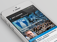 MFF Center app - Main