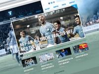 MFF - Football club web project
