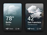 Small Weather Widget