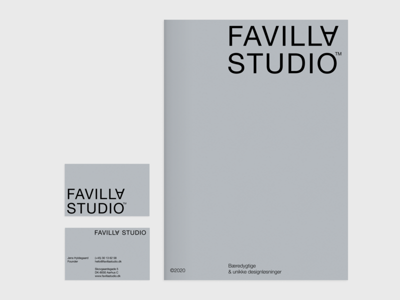 Savila Studio – 10 minimal danish typography logo branding catalog printing business card scandinavian clean design