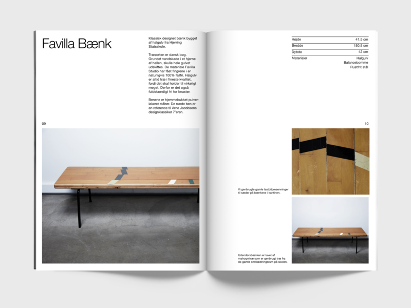 Favila Studio – 11 furniture after effects catalog minimal nordic branding clean scandinavian design