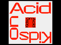 Kids on acid - type animation - 02 typography techno branding after effects minimal animation design