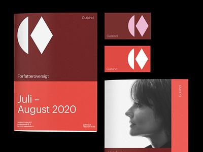 Gutkind - Visual Identity minimal branding logo clean design