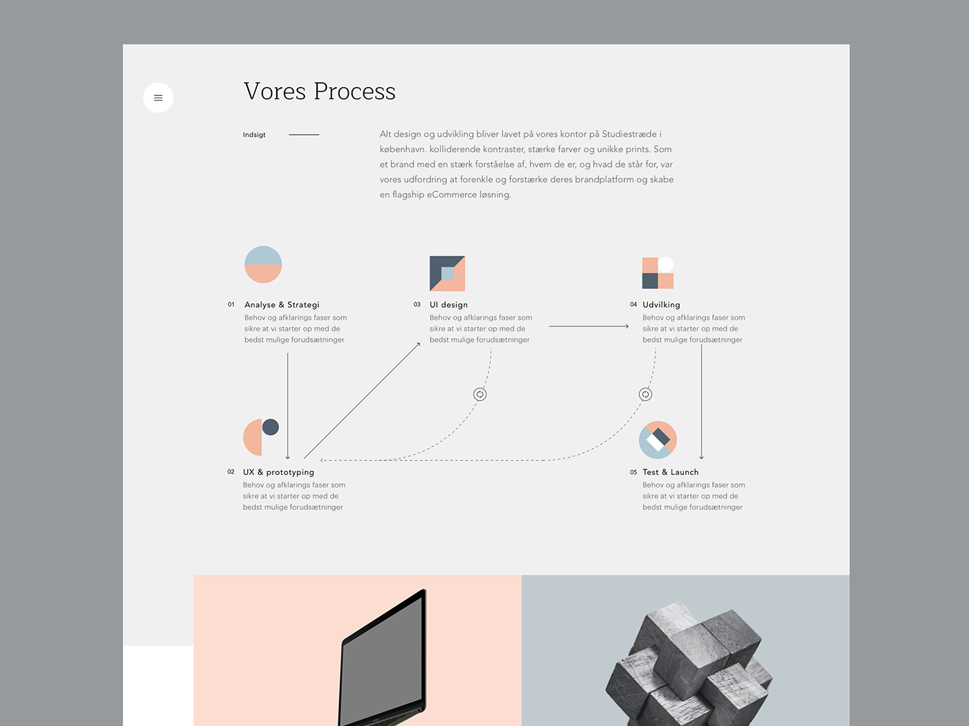 Konform - webdesign simple clean interface simple interface ui design diagram process