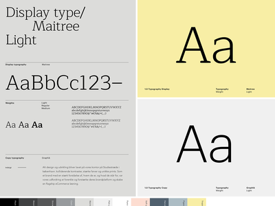 Konform - Styles colors typography type design design manual style-guide styles