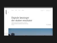 Konform website animations