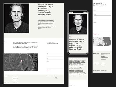 Beatroot Studio nordic scandinavian clean simple clean interface light moderism studio sound web website minimal simplicity branding product design webdesign design