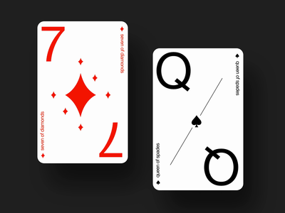 The Modernist – playing cards