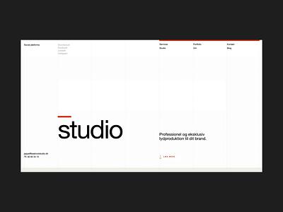Beatroot Studio - animations web design webdesign web studio sound interface nordic logo ui minimal clean scandinavian after effects animation design
