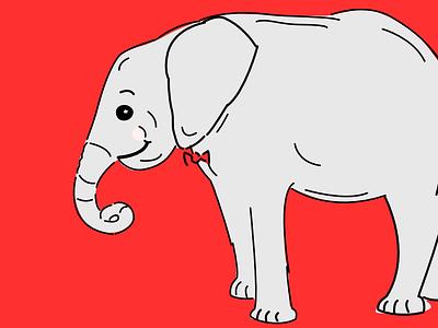 Trial Illo elephant happy