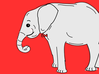 Trial Illo elephant happy