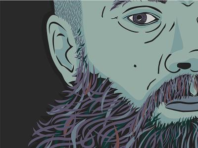 Self Portrait Illustration vector illustration