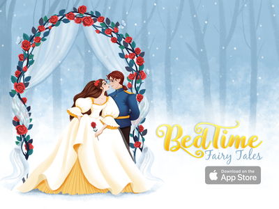 Beauty and Beast - Animated Fairy Tale animated animation rose gate dress princess prince beast fable story kids story story for kids animation story fairy tale bedtime story bedtime stories