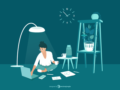 Working at home interior programmer developer desinger remoting stay home safe freelancer home stay remote work work at home