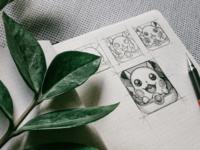 Pokemon - Free PSD Pikachu app icon