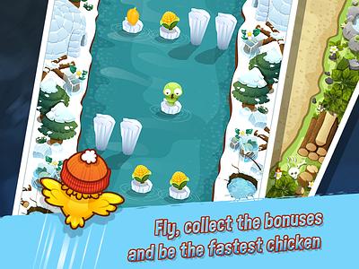 FUNNY CHICKEN JOURNEY gamestudio ios chicken funny chicken journey adventure game junoapps junoteam