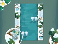 Winter Game Landscape