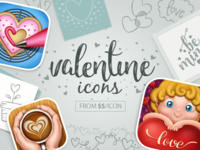The best icons for your Valentine's day