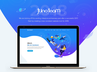 Junoteam Website 2018