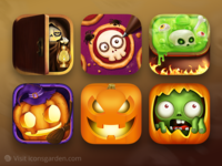 HALLOWEEN APP ICON COLLECTION