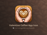 Valentine Coffee app icon