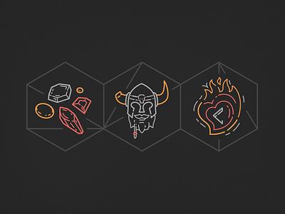 Skills, Experience, & Passion mage wizard magic skyrim viking helmet rune gems fantasy