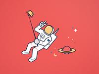 Selfies in Space