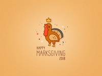 Happy Marksgiving or Thanksgiving