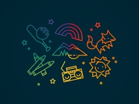 Youth Symbols or Childhood Icons
