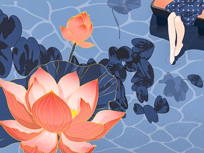 lotus vector illustration
