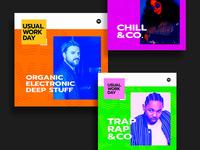 Spotify playlist album covers