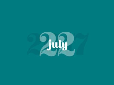 July 22, 2017