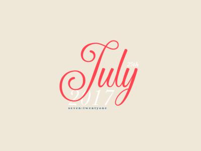 July 25th, 2017