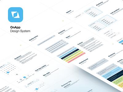 Design System for OnApp atom design product design ui kit design system ui