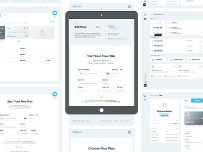 Cloud Admin tablet cloud management dashboard design web app ui ux