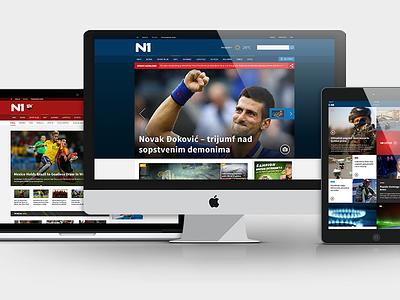 N1 Info Showcase article weather flat media ios responsive ipad news icon breaking live feed