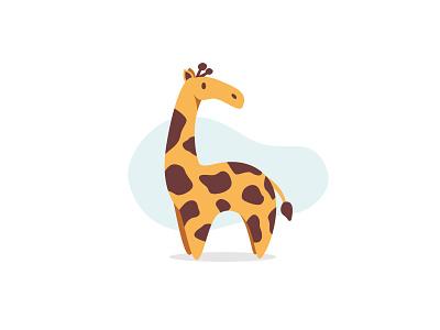 Giraffe giraffe safari vectorart vector illustration animal