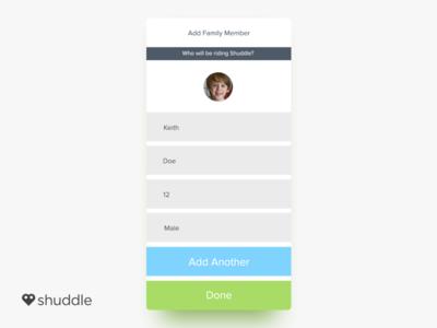 Shuddle | iOS