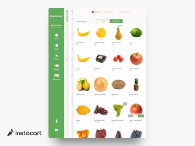 Instacart | iPad Prototype