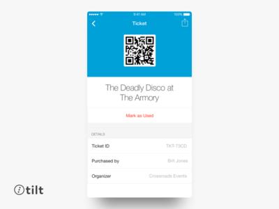 Tilt: Ticket | iOS