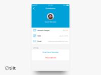 Tilt: Contribution | iOS