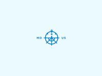 compass + ship wheel