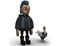 Punk And Chicken