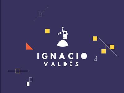 Ignacio Valdés Branding robot logotype logo design branding