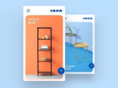IKEA App Concept minimal user interface uiux redesign ikea ui design app design app concept