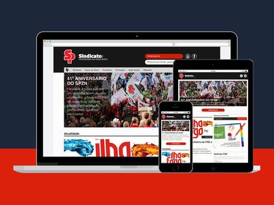 SPZN Website by Sétima