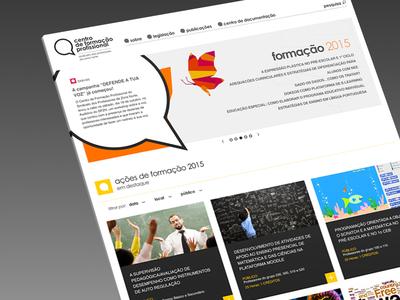 CFProf Website by Sétima