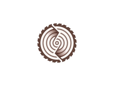 Reclaimed Wood Construction Logo