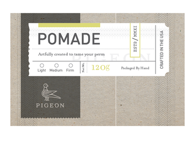 WIP Pigeon label