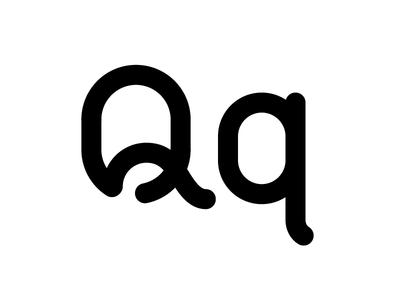 Qq letterforms